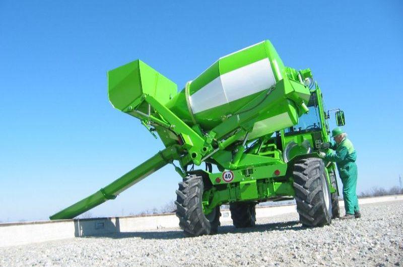 Merlo DBM 3500 Mini Cement Mixer Ground Control