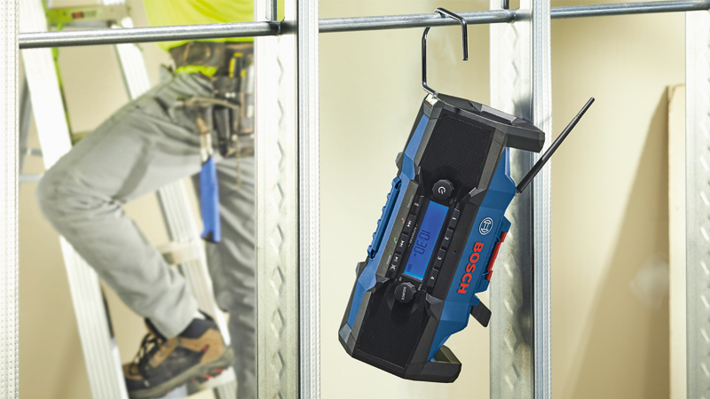 Music to Your Ears: Bosch Intros Two Jobsite Radios
