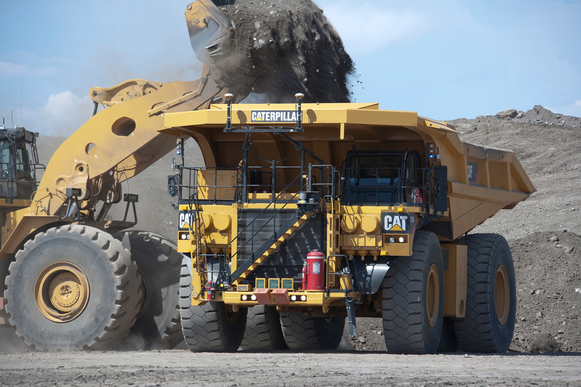 Work is underway to someday power these giant machines with batteries.