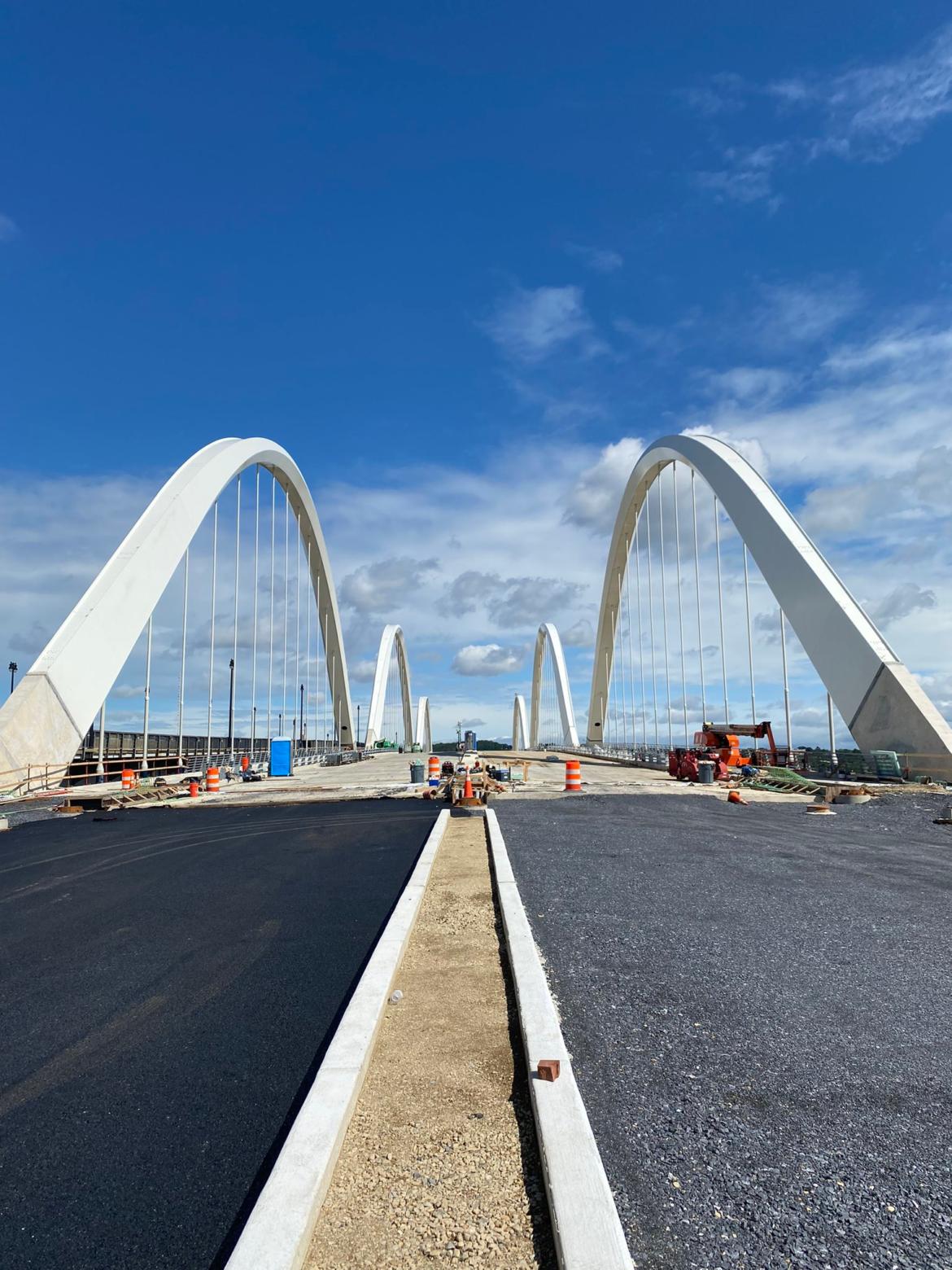 D.C. DOT Opens Triple-Arch Frederick Douglass Memorial Bridge