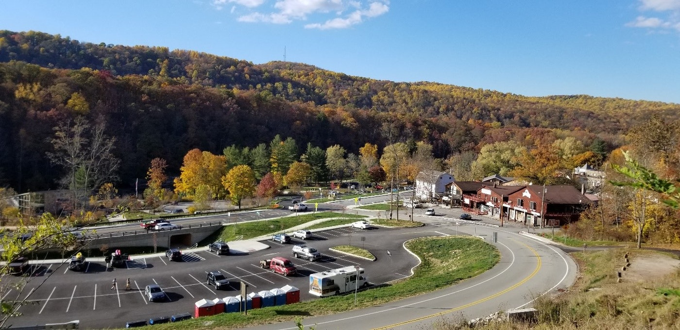 Ohiopyle park road project Pennsylvania award