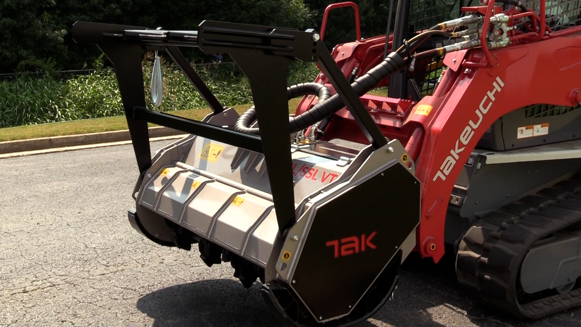 Takeuchi Fixed-Tooth Forestry Mulcher